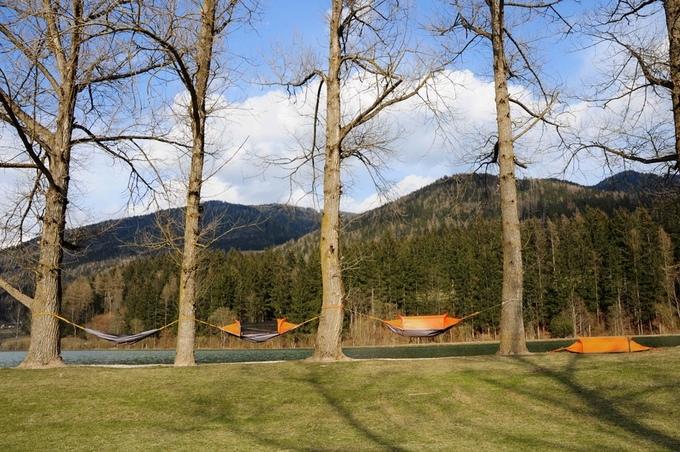 Flying tent – univerzální přístřešek