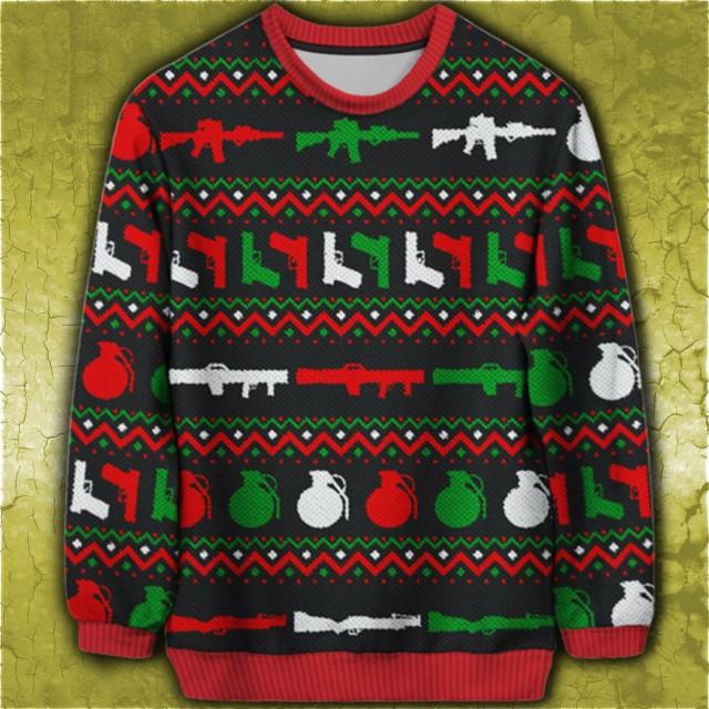 32 vánočních svetrů a čepic