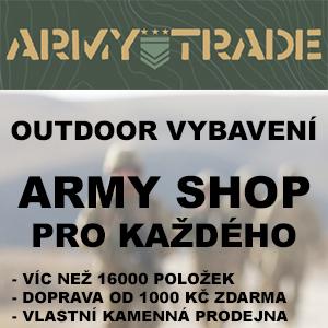 Armyshop Armytrade - outdoor vybavení, army zboží pro každého